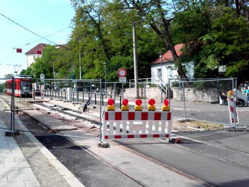 Ausbau des Straßenzuges Weiße Mauer Merseburg