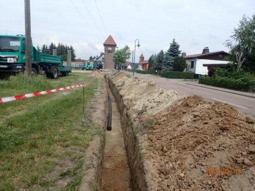 DSL-Erschließung der Gemeinden Aue, Obschütz-Storkau, Priesnitz, Neidschütz und Meyen
