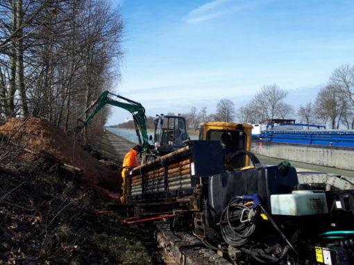Verlegung LWL-Kabel von Minden nach Lohnde am Mittellandkanal